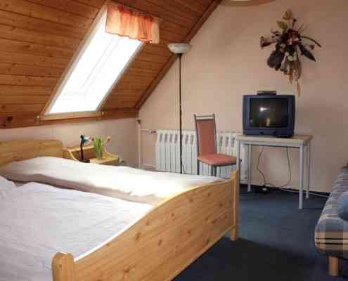 Doppelzimmer Pension am Uckersee
